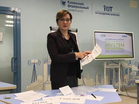 Профессор КФУ удостоена Государственной премии Республики Татарстан имени М.И. Махмутова