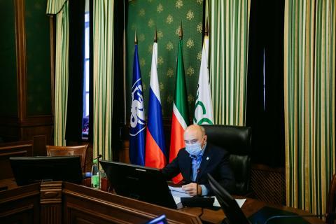 Ректор КФУ провел рабочую встречу с руководителями структурных подразделений