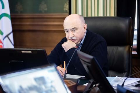 Ректор КФУ провел рабочее совещание с руководителями структурных подразделений вуза