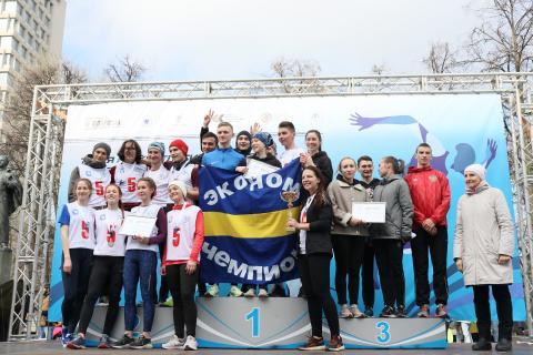 Студенты ИУЭФ стали победителями забега команд КФУ