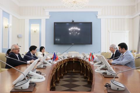 КФУ принял представителей посольств Республики Турция