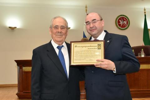 Директор ИФМК КФУ награжден за содействие реализации задач фонда «Возрождение»