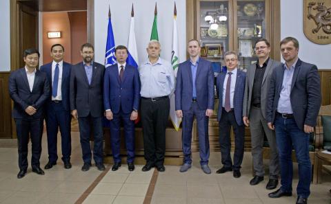 КФУ налаживает сотрудничество с нефтяными компаниями Узбекистана
