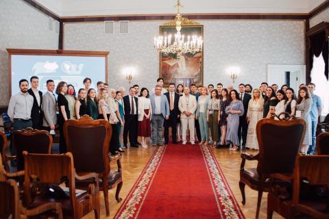 Студенты МГИМО и КФУ встретились с известными выпускниками Казанского университета