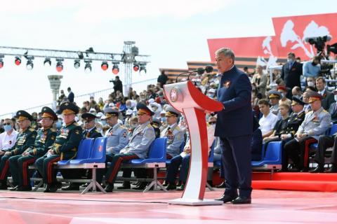 Президент РТ: «Мы сделаем все, чтобы подвиги наших дедов и прадедов не забылись»