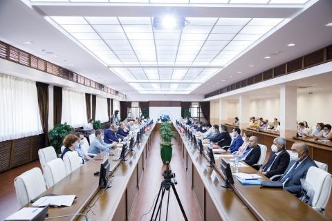 Ильшат Гафуров: «Университетам отводится особая роль в процессе укрепления образовательного и научного партнерства России и республик Центральной Азии»