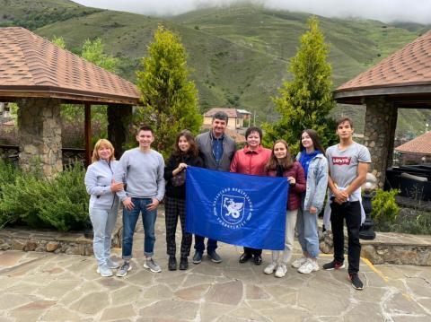 Студенты КФУ посетили Владикавказ по программе студтуризма