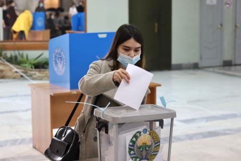 В КФУ прошли досрочные выборы Президента Узбекистана